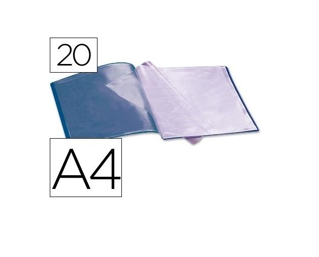 Capa Catalogo 20 Bolsas Azul