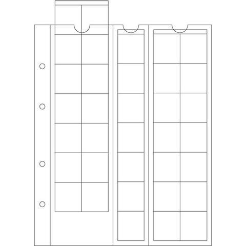 Bolsa p/ Numismatica Leuchtturm Optima27 (Pack 5) 306013