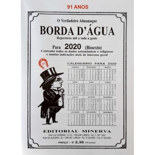 Almanaque Borda D'Agua