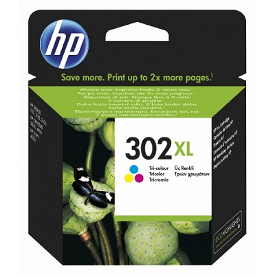 HP302XL - Tinteiro HP Cores