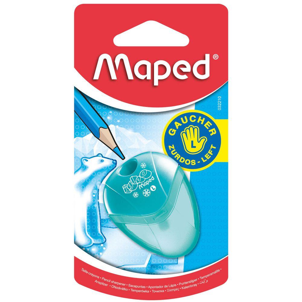Apara Lapis c/ Deposito Maped I-GLOO p/ Esquerdino