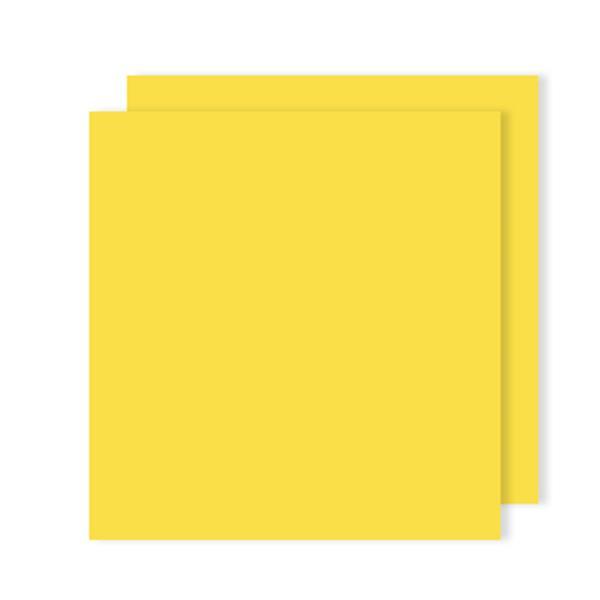 Cartolina Amarelo Canário 240g