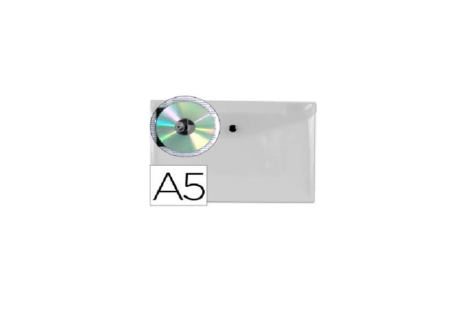 Bolsa Porta Documentos A5 c/ Mola Transparente