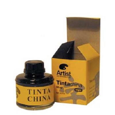 Tinta da China Preto 60ml