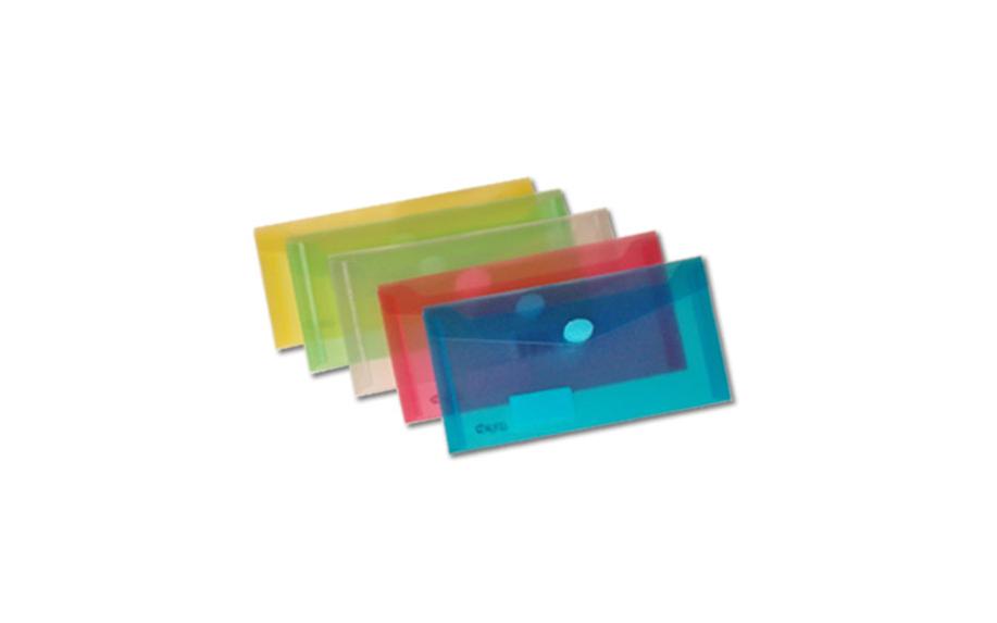 Bolsa Porta Documentos Envelope DL c/ Velcro Cores