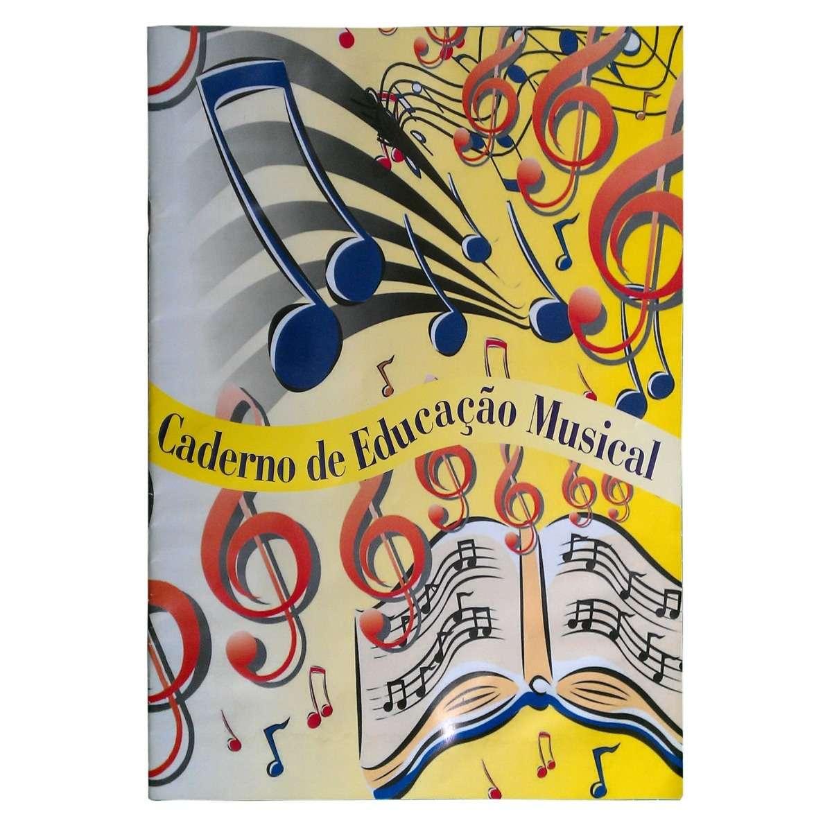 Caderno Musica A4 20fls PF