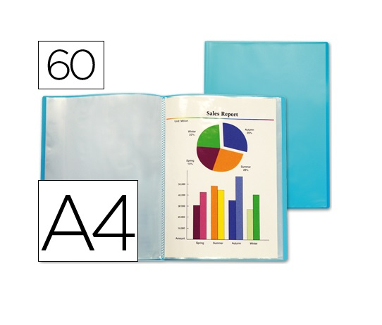 Capa Catalogo 60 Bolsas Azul