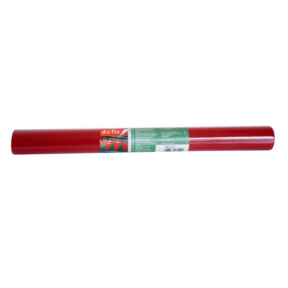 Papel Autocolante 0,45mx1m Veludo Vermelho
