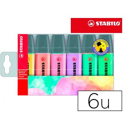 Stabilo Boss Pastel (6un)