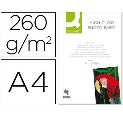 Papel A4 260g Foto Glossy (20fls) Inkjet