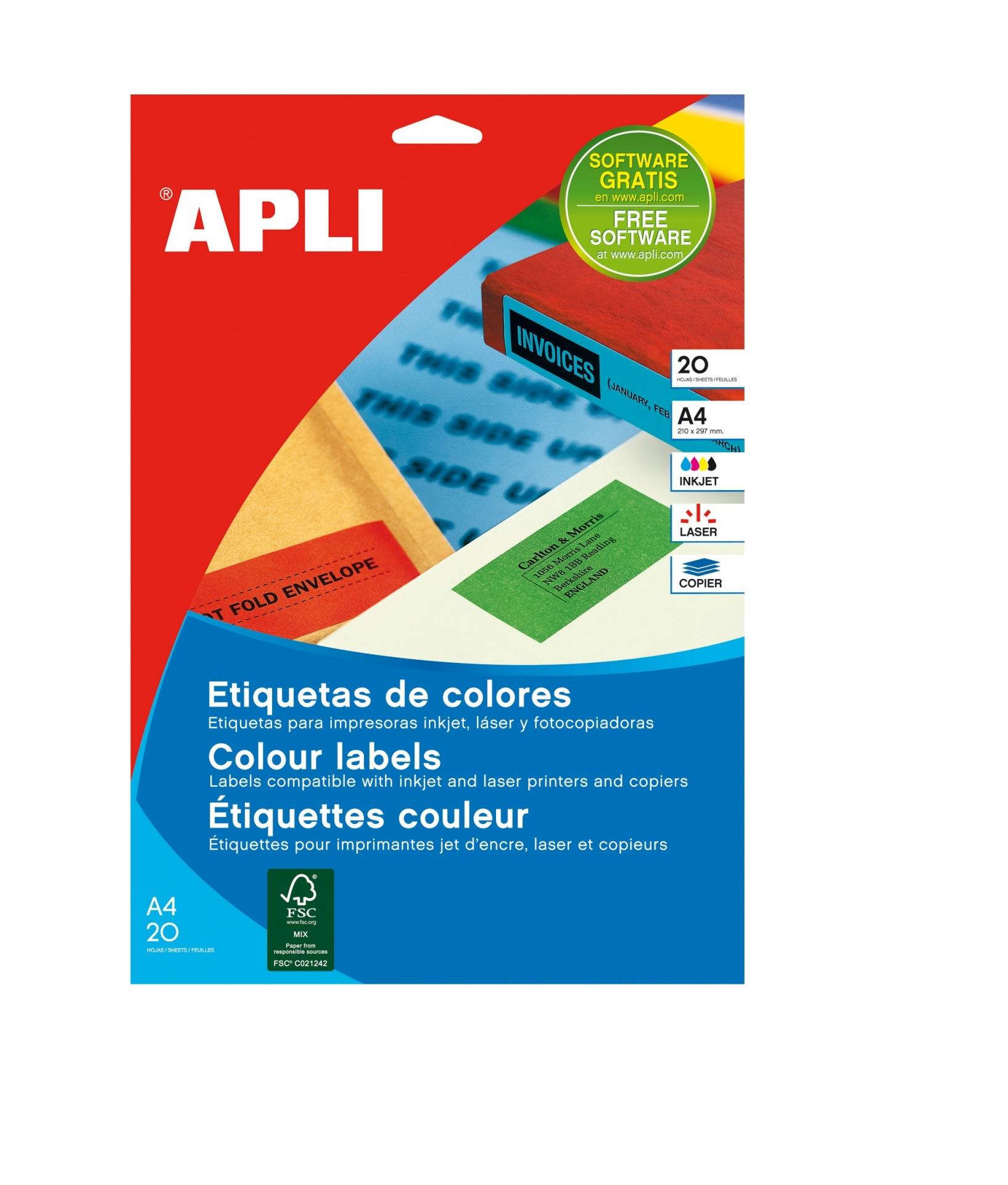 A4 210x297mm (1) Azul (20fls) APLI