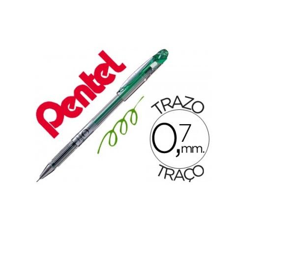 PENTEL BG207 0,7mm, Verde