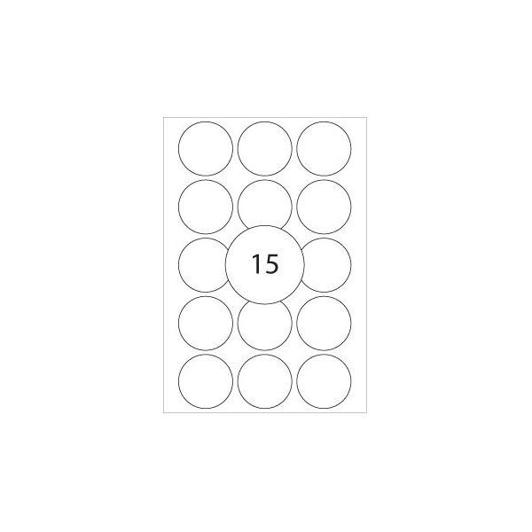 Etiquetas Circulares 32mm (32fls)