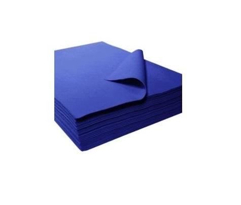 Folha feltro 30x45x3.5mm azul forte