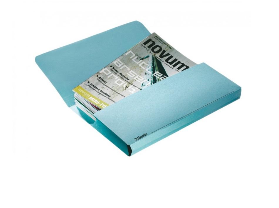 Pasta Documentos A4 em Cartolina Esselte Azul