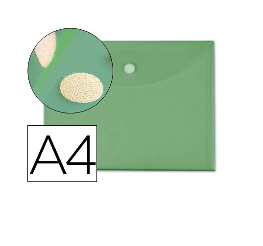 Bolsa Porta Documentos A4 c/ Velcro Verde