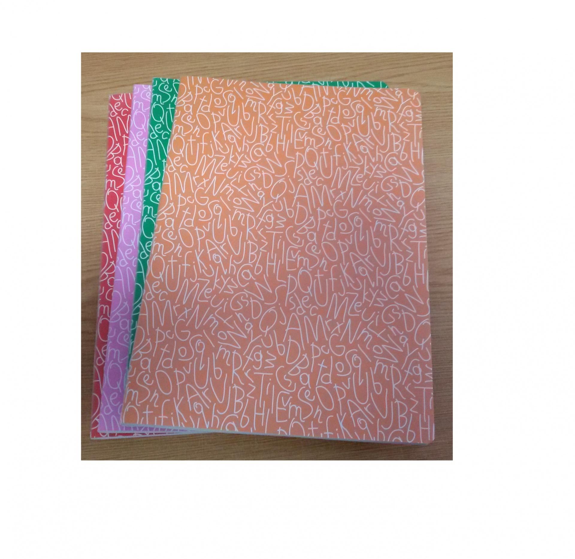 Caderno A4 Agrafado 48fls Liso