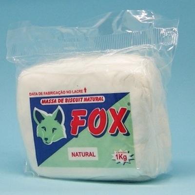 Pasta Modelar p/Biscuit FOX Natural 1Kg 90530