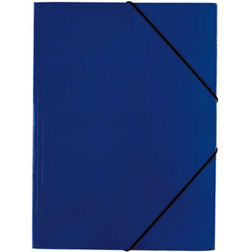 Pasta c/ Elasticos A3 Cartolina Azul