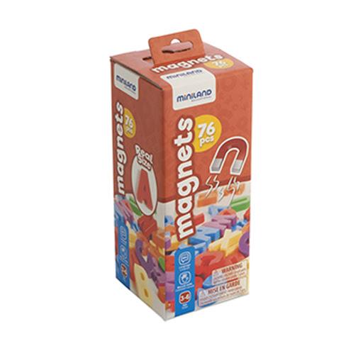 Brinquedo Miniland Letras Magneticas Maiusculas 45312