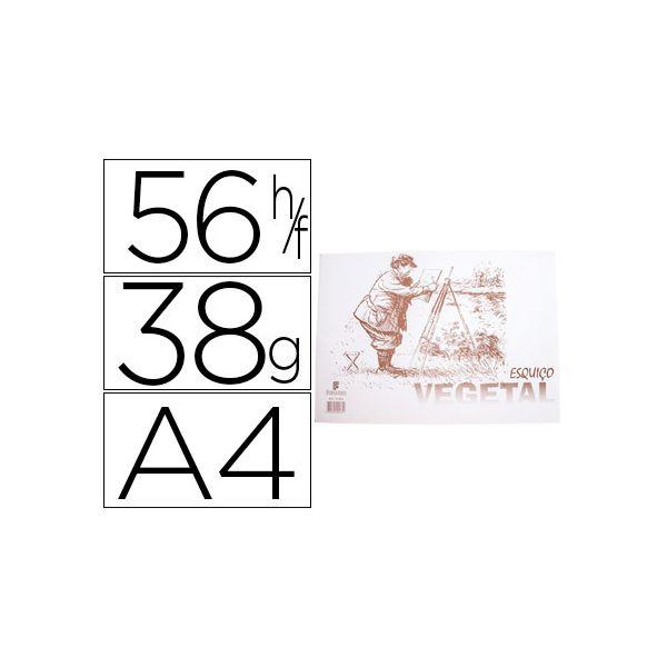 Papel A4 Vegetal 38g 56fls