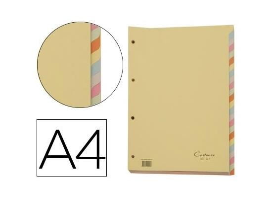Separadores A4 Cartolina Conj. 24