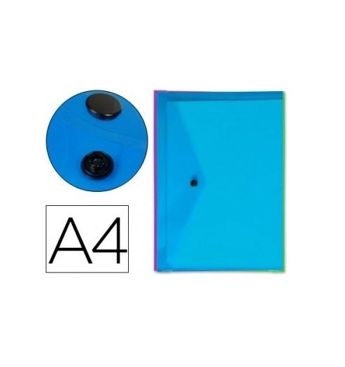 Bolsa Porta Documentos A4 c/ Mola Cores (5un)