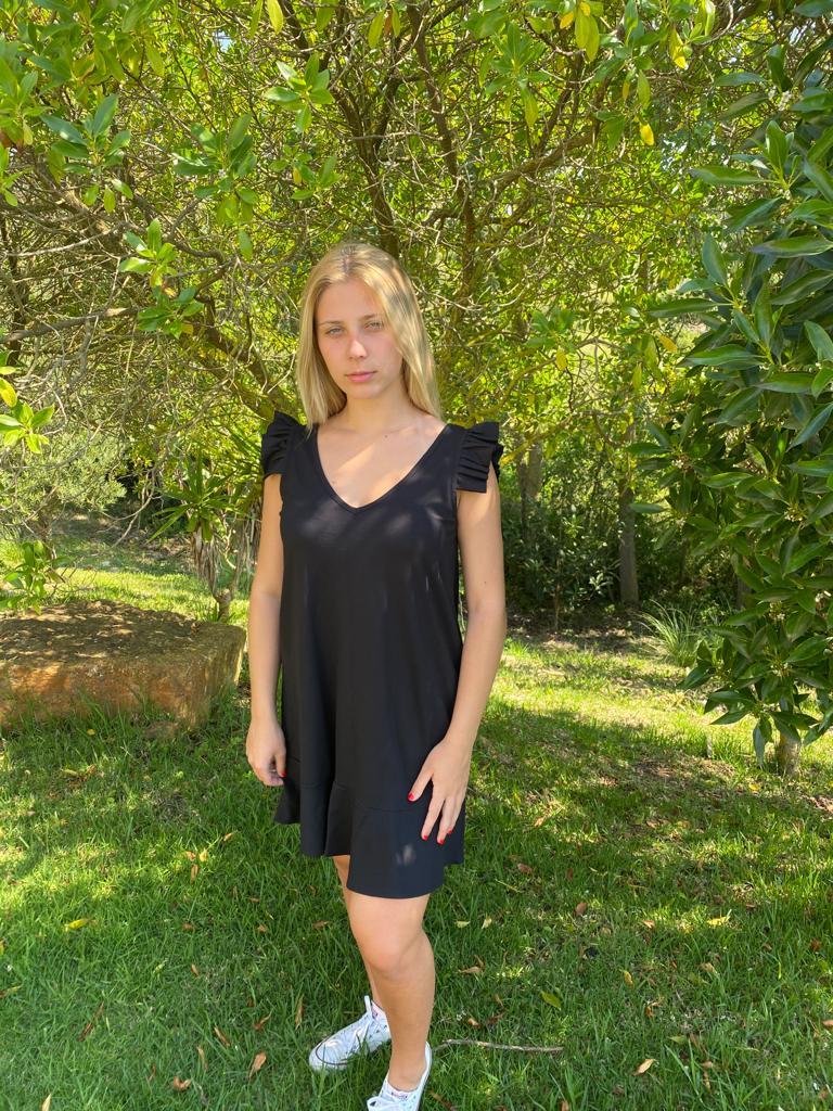 Vestido Maia Preto