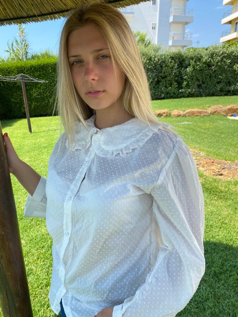 Camisa Hebe Branca