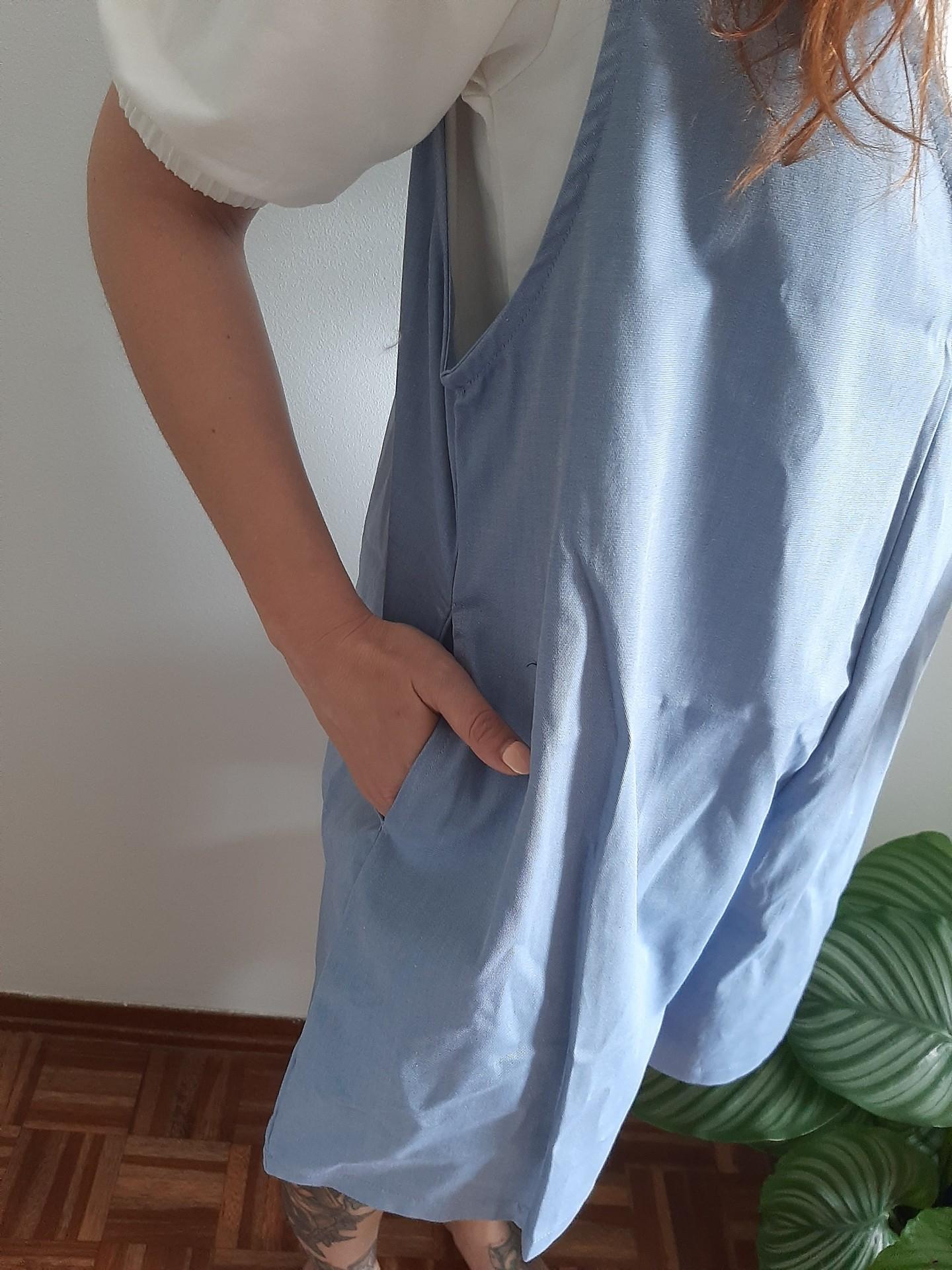 Macacão Talassa azul