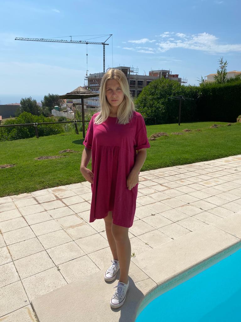 Vestido Ilítia Rosa