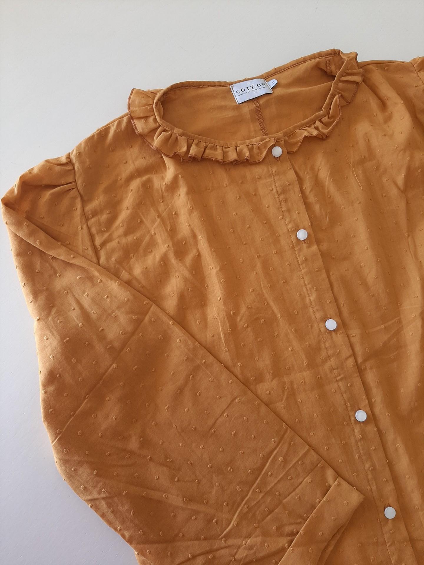 Camisa Irene Mostarda