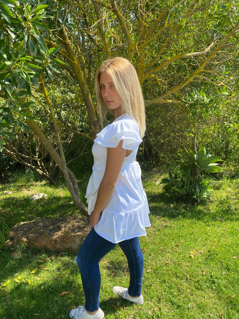 Blusa Eos branca