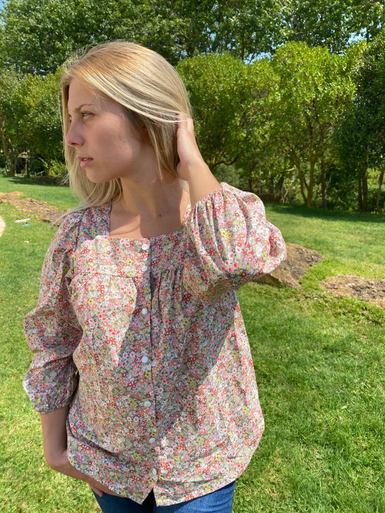 Camisa Artémis Flores