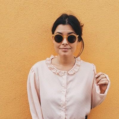 Camisa Irene Vintage rosa