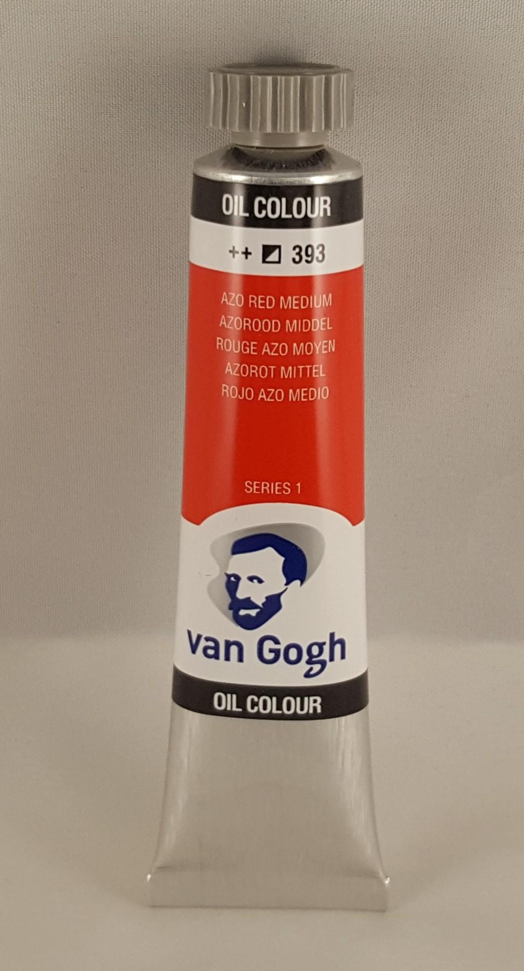 Tinta de óleo Van Gogh azo red medium