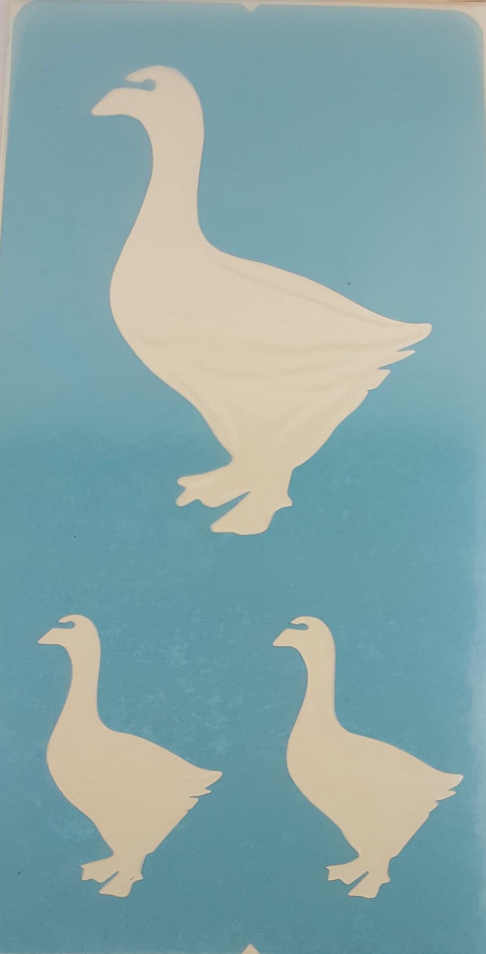 Stencil Gansos
