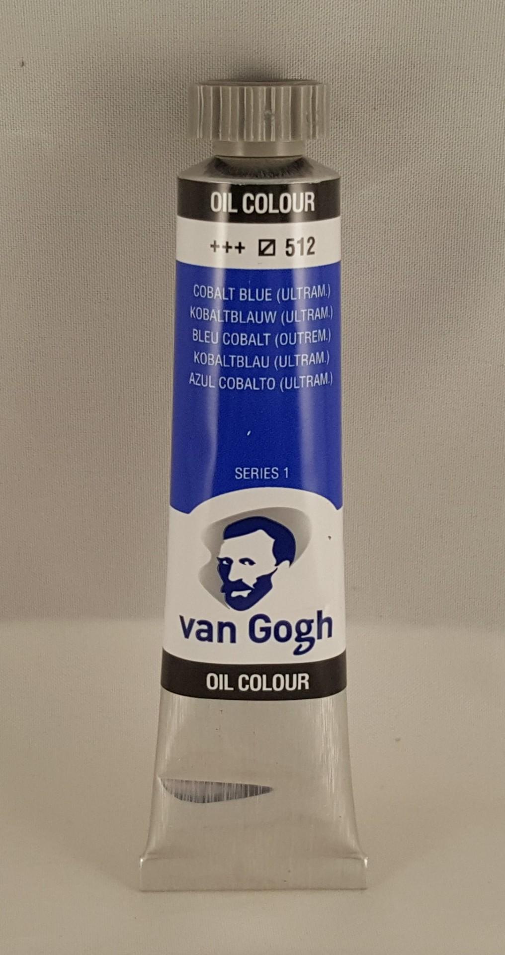 Tinta de óleo Van Gogh cobalt blue (ultram.)