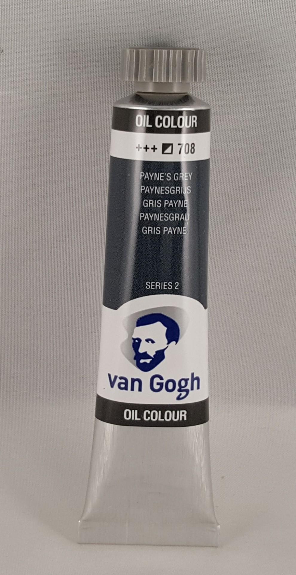 Tinta de óleo Van Gogh payne's grey