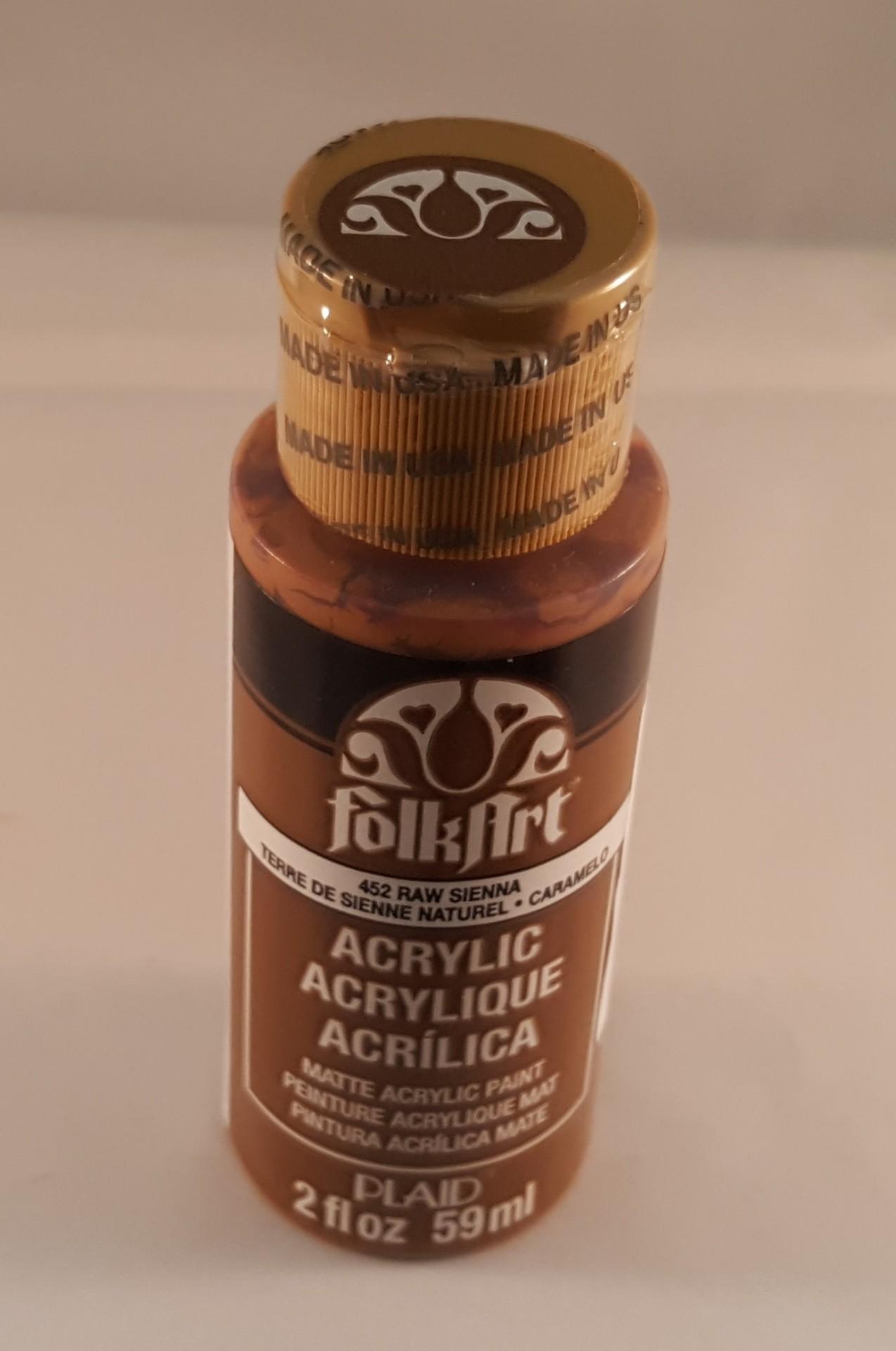Tinta Acrílica Folkart caramelo