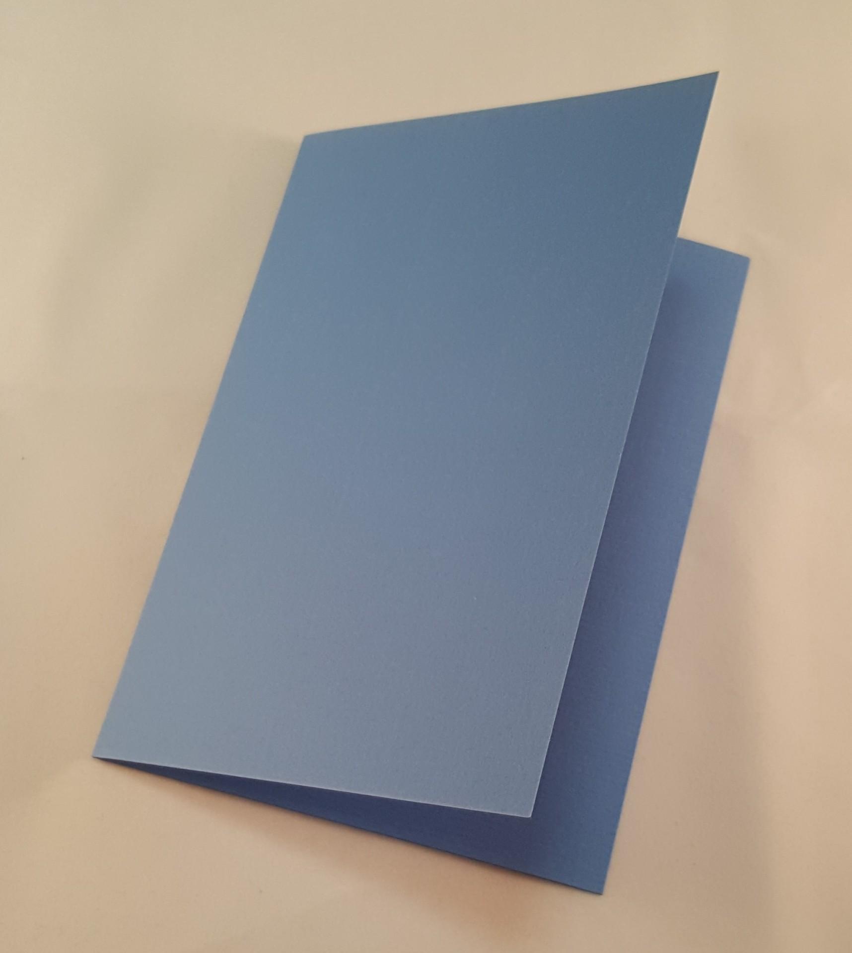 Cartão C6 colorido cor azul escuro