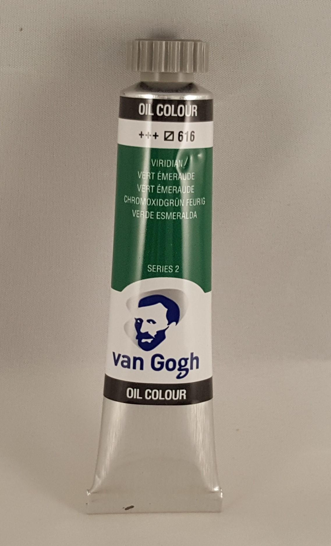 Tinta de óleo Van Gogh verde esmeralda