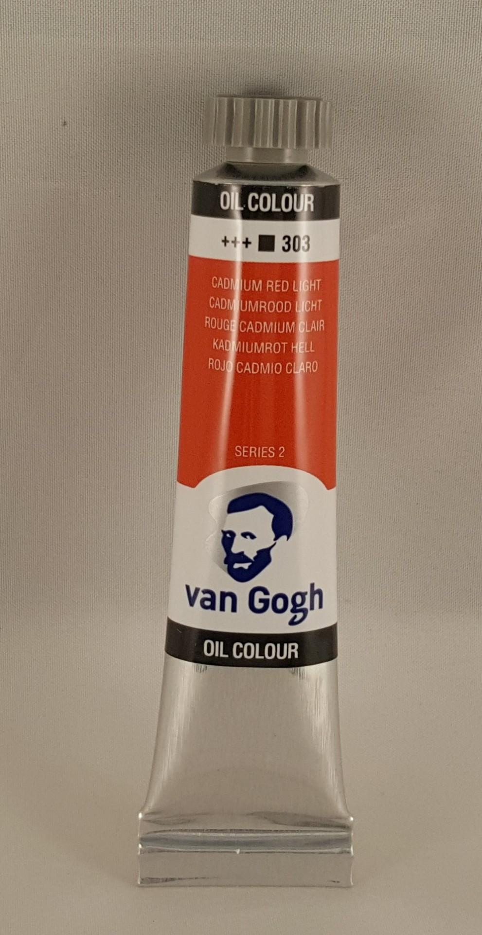 Tinta de óleo Van Gogh  cadmium red light