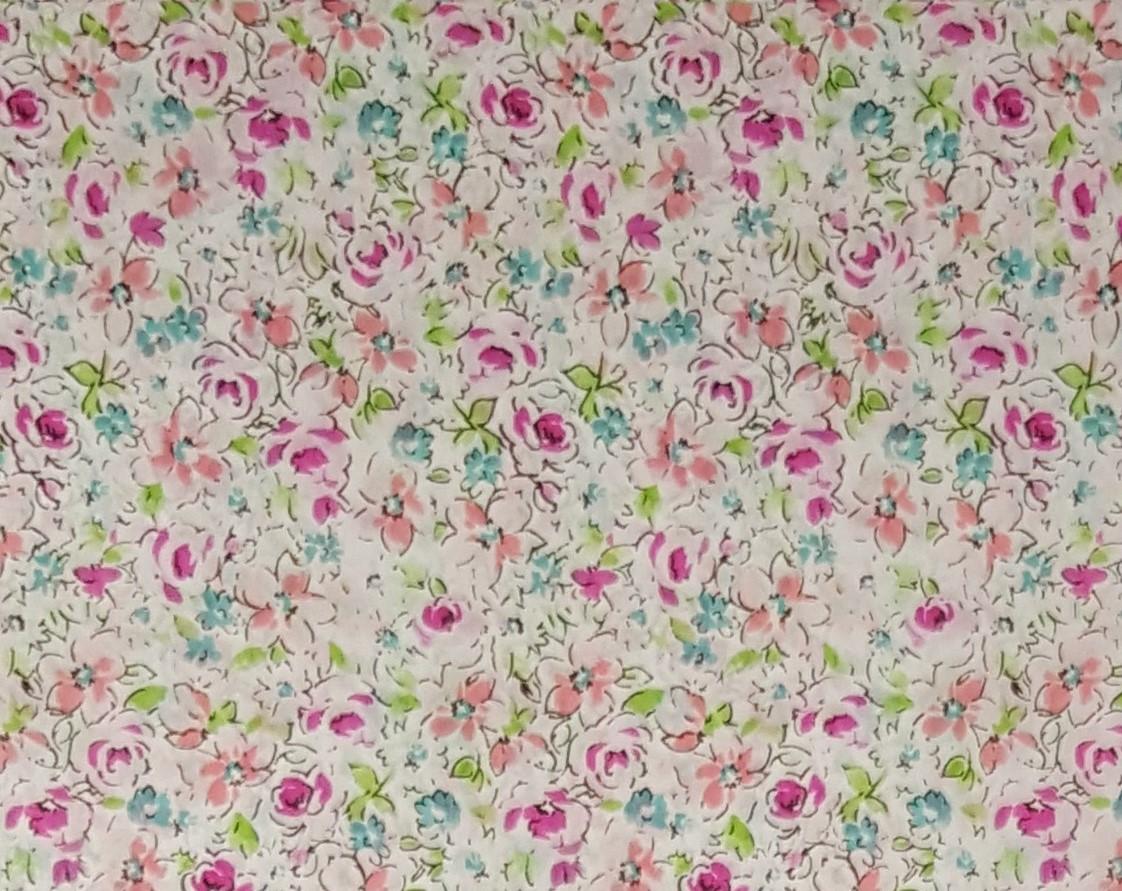 Papel  Décopatch - Flores