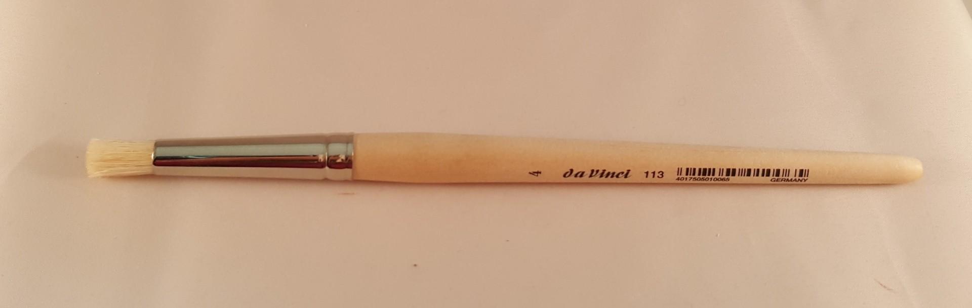 Pincel de stencil da Vinci nº 4