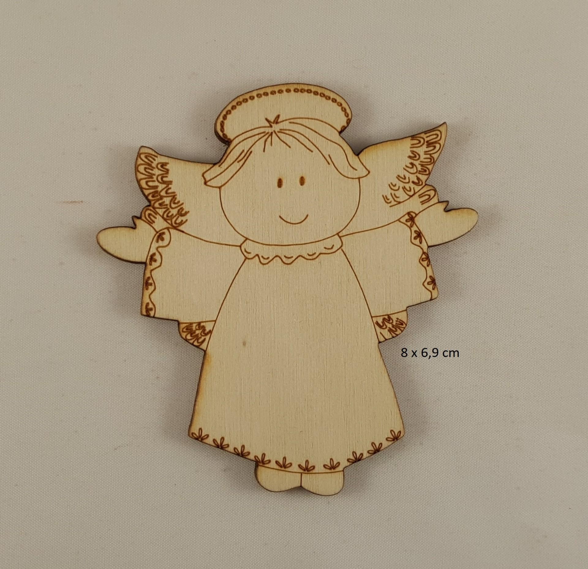 Anjos pequenos MDF  s/ oração