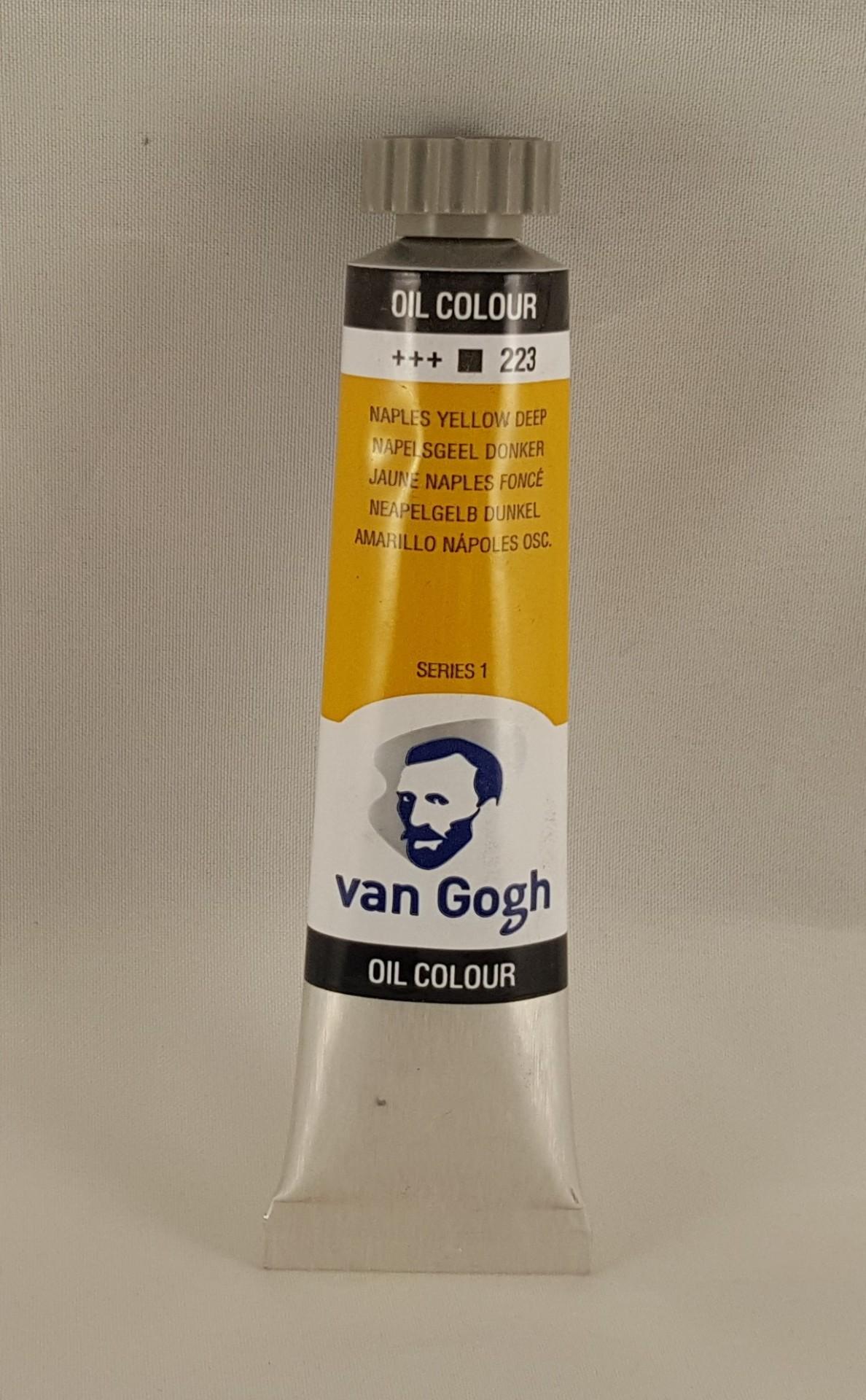 Tinta de óleo Van Gogh naples yellow deep