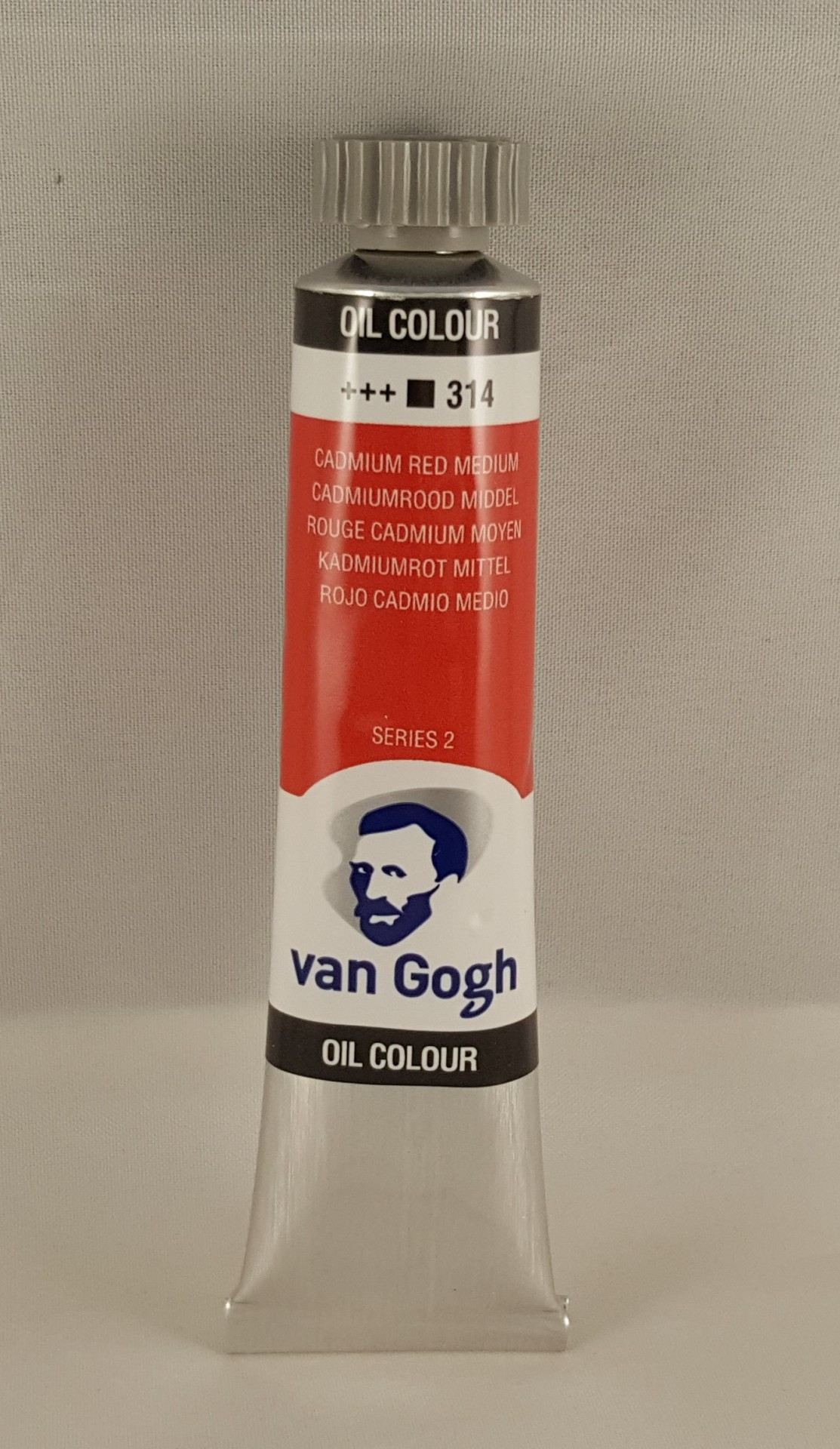 Tinta de óleo Van Gogh cadmium red medium