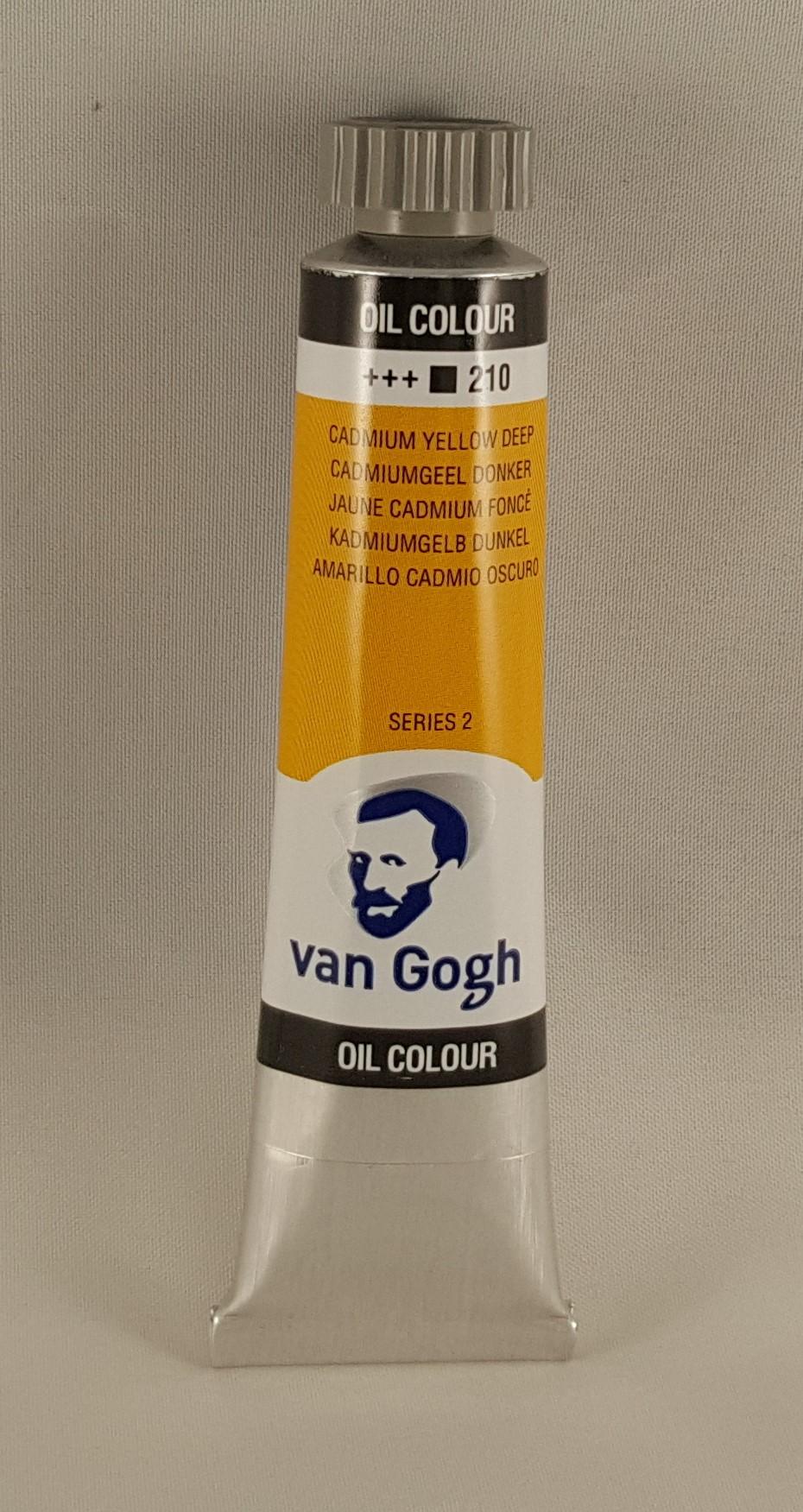 Tinta de óleo Van Gogh  cadmium yellow deep