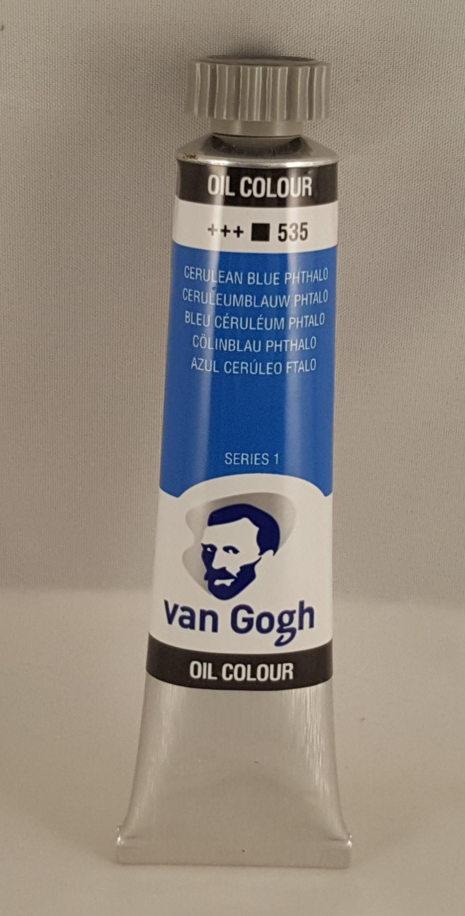 Tinta de óleo Van Gogh cerulean blue phthalo